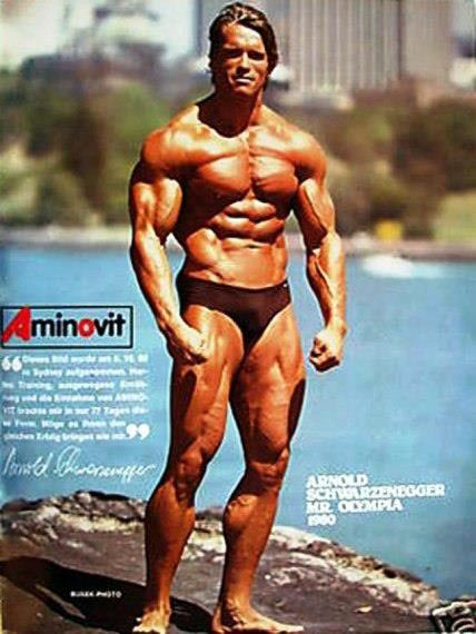 "Arnold Schwarzenegger 1975 Mr Olympia ""Upper"" vs ""Lower"
