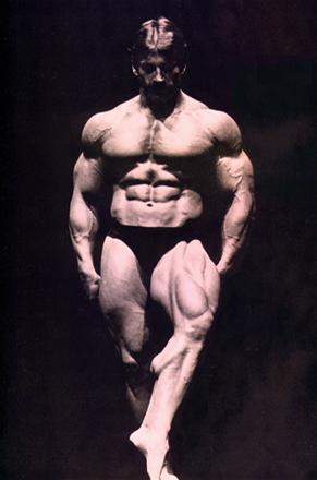 mike mentzer calves