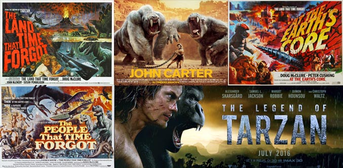 edgar rice burroughs movies