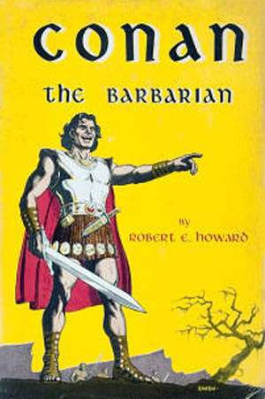 conan the barbarian 1950s book