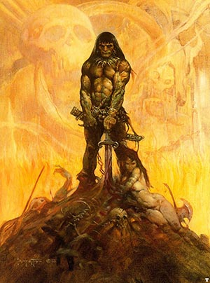 conan the barbarian frank frazetta