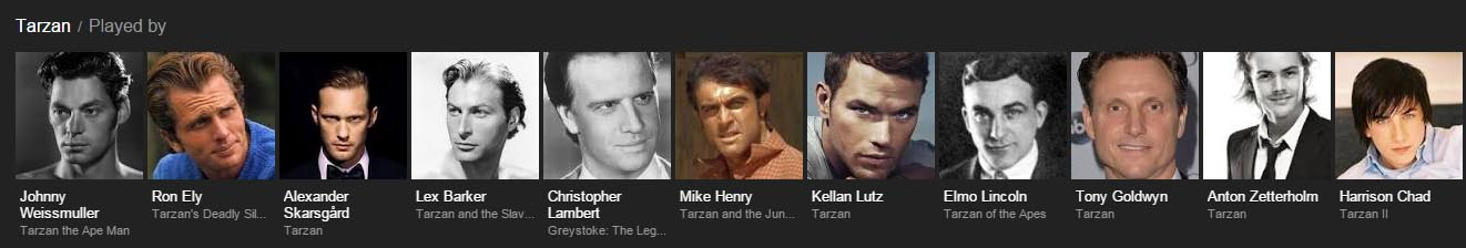 men who played tarzan