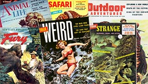 joe weider pulp magazines