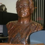 Bronze Bust of Joe Gold