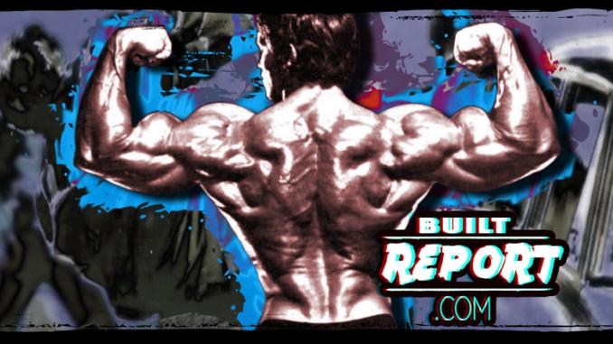Built Report arnold schwarzenegger back double biceps