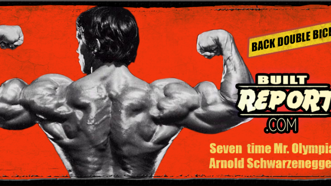 Built Report Arnold Back Double Biceps
