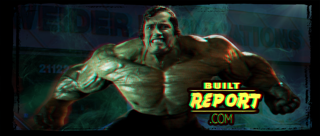 built report arnold schwarzenegger most muscular pose