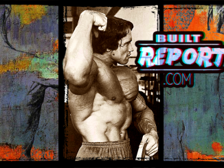 Built Report arnold schwarzenegger lower lats