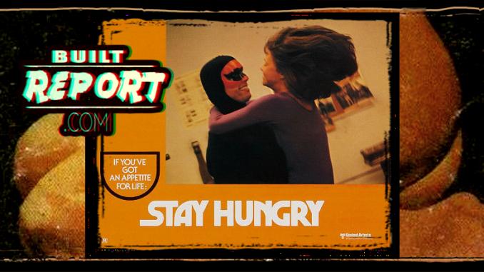 arnold schwarzenegger 1974 Stay Hungry
