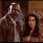 Ms Olympia Rachel McLish with Lou Gossett Jr