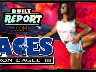 Built Report Iron Eagle Rachel McLish