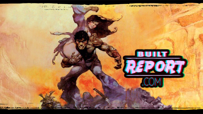 Built Report Frank Frazetta the mucker