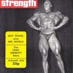 Health and Strength Magazine Cover January 1974
