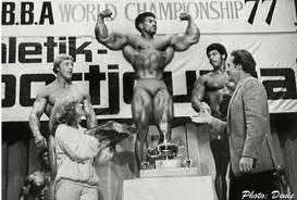 Tony Emmott at the 1977 NABBA World Championships