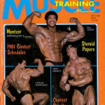 Bill Grant, Carlos Rodriguez, and Tony Emmott on the cover of Dan Lurie's Muscle Training Illustrated.