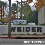 Weider Headquarters in Woodland Hills on Erwin Street which runs parallel to Ventura Blvd.
