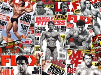 bodybuilding magazine covers