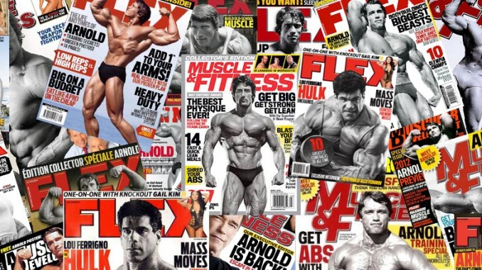 bodybuilding magazine covers