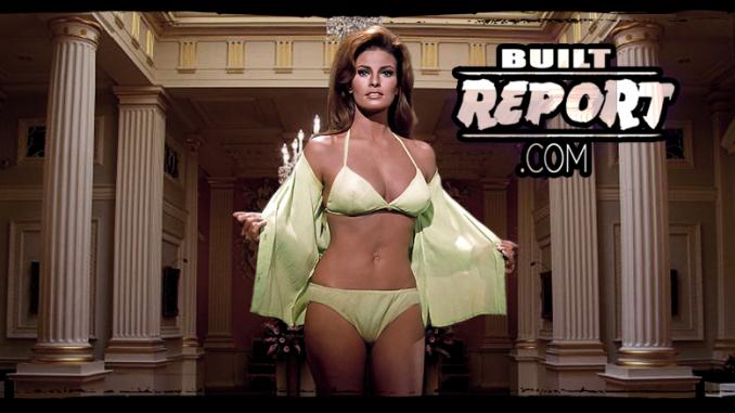 Built Report Raquel Welch in Fathom