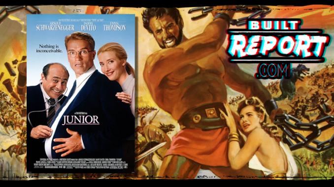 Built Report Arnold Schwarzenegger and Steve Reeves