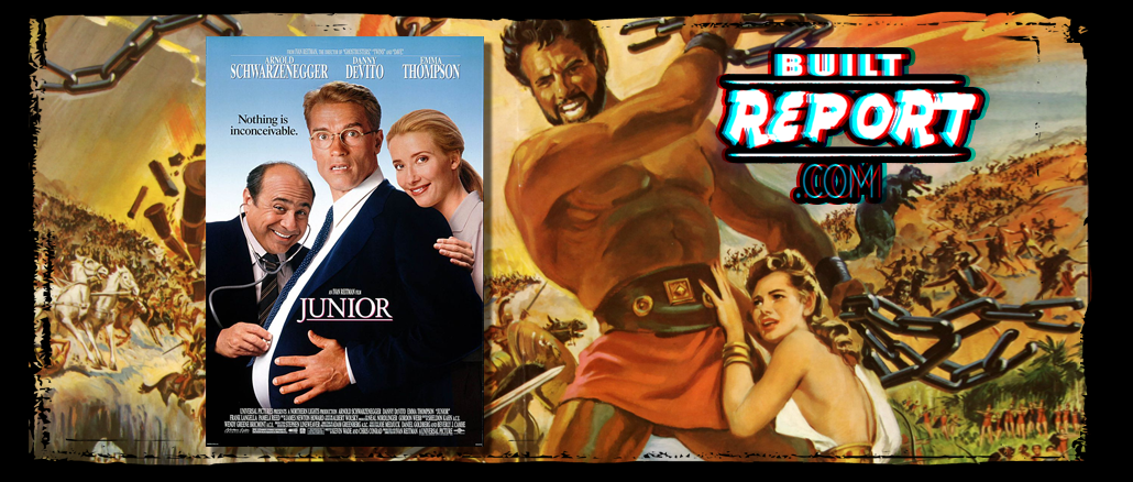 Steve Reeves and Arnold Schwarzenegger