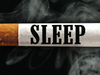 sleep smoking