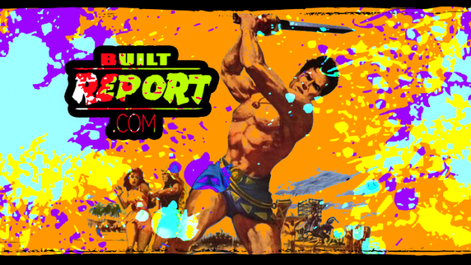 Built Report steve reeves the slave