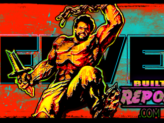 Built Report White Warrior Steve Reeves