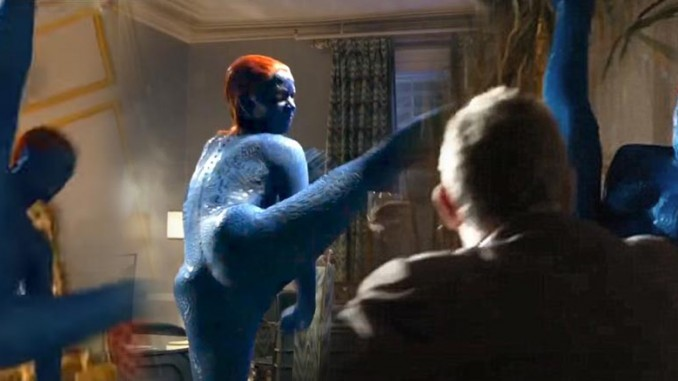 Mystique nude in xmen