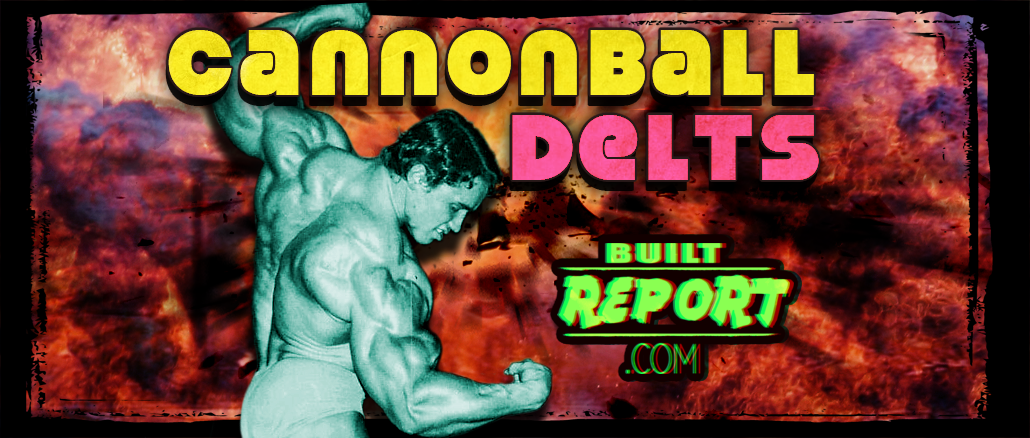 Built Report arnold schwarzenegger shoulder workout