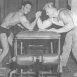 Dave Draper Arm Wrestling