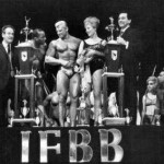 Joe and Ben Weider award Dave Draper a fitness model