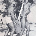 Dave Draper and Don Peters Bodybuilders