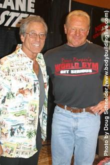 Dave Draper and Frank Zane