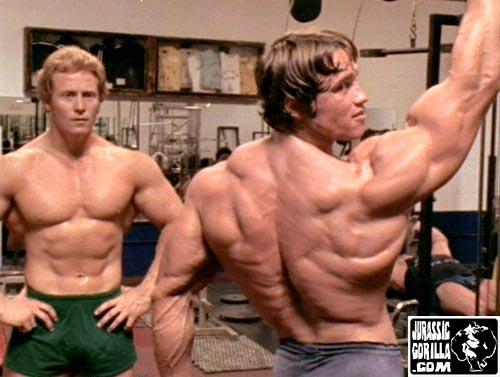 Ken Waller and Arnold Schwarzenegger
