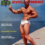Ken Waller on the Cover of Bob Hoffman's Muscular Development