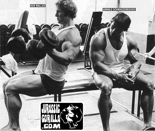 Ken Waller and Arnold Schwarzenegger