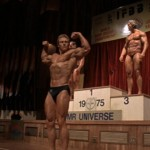 Ken Waller winning the 1975 Mr. Universe