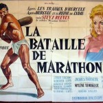 French poster for The Giant of Marathon