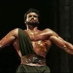 Steve Reeves pulling down columns in Hercules