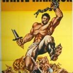 Steve Reeves poster for The White Warrior