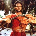 Hercules displays feat of strength