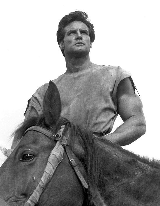 Steve Reeves in Duel of the Titans