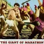 Steve Reeves swings a club in Giant of Marathon