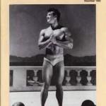 Steve Reeves on the cover of November 1992 Hardgainer Magazine
