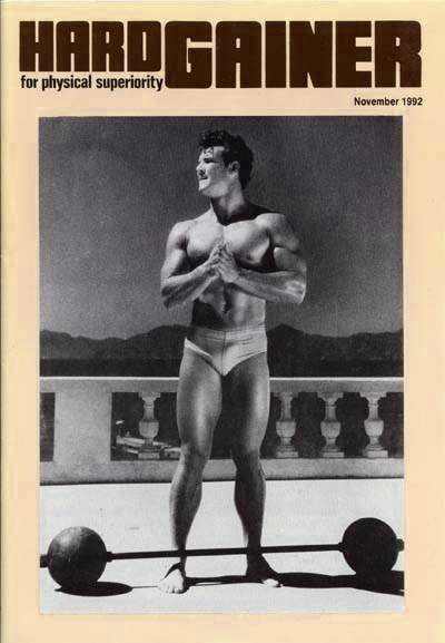Steve Reeves 1992 Hardgainer Magazine