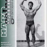 Steve Reeves on the cover of Hardgainer Magazine