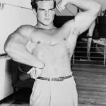 Steve Reeves Biceps pose