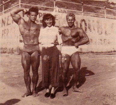 Steve Reeves with Beatnik Chick