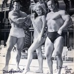 Steve Reeves with George Eiferman and retro fitness model